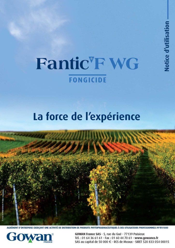 NOTICE A4 FANTIC F WGHD-1