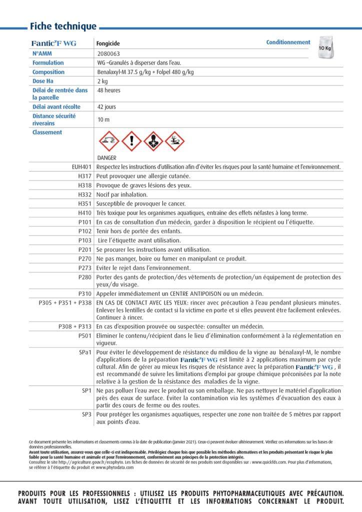 NOTICE A4 FANTIC F WGHD-5